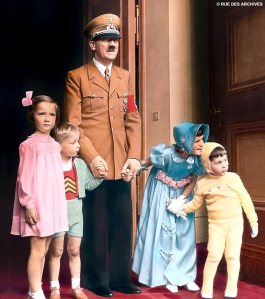 Hitler & children