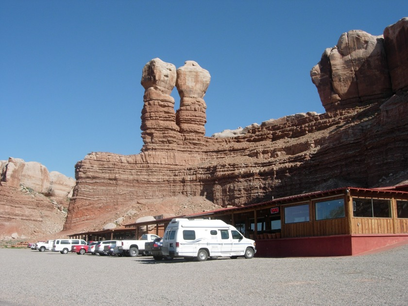 Twin Rocks Cafe Bluff Utah