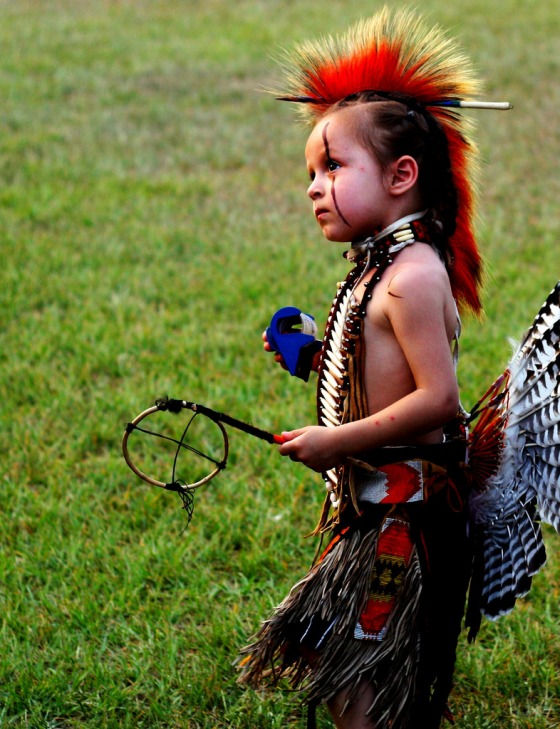 A Pow Wow is Beauty of Spirit.